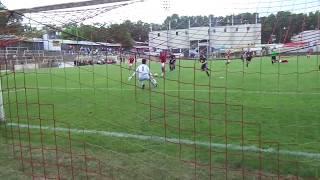 VfR Mannheim - 1. FC Bruchsal / Das 1:0 durch Enis Baltaci
