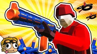 NERF WAR and DRONE MODS! | Ravenfield Weapon and Vehicle Mod Beta Gameplay