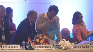 Book released by Suresh Prabhu, titled 'Building a Project Oriented Society'.
