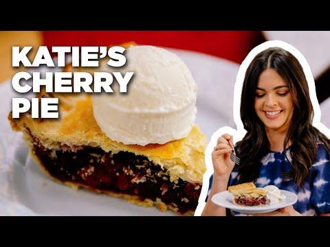 bake-cherry-pie-with-katie-lee-|-food-network
