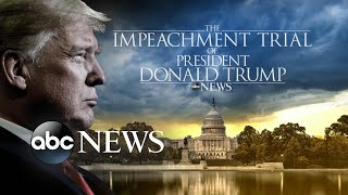 Trump speaks out as rules set for historic trial l ABC News