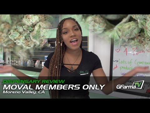 MoVal Members Only - Moreno Valley, CA   Dispensary Review