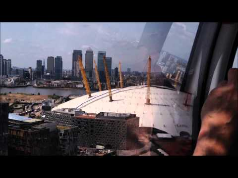 Emirates Air Line Journey from Emirates Greenwich Peninsula to Emirates Royal Docks on opening day
