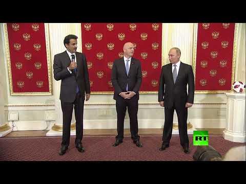 أمير قطر يهنئ بوتين بنجاح المونديال  - نشر قبل 53 دقيقة