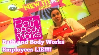 Bath and Body Works Employee Lies To Customer and Customer Proves It! QuietBoyMusik