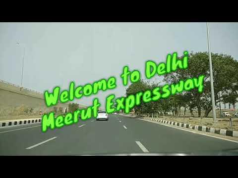 Driving at Delhi Meerut Expressway