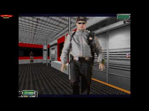 WILLIAM SHATNER'S TEKWAR (1995) - DOS Gameplay Video (PC MS-DOS)