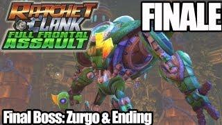 Ratchet & Clank: Full Frontal Assault - FINALE - Final Boss: Zurgo/Ending