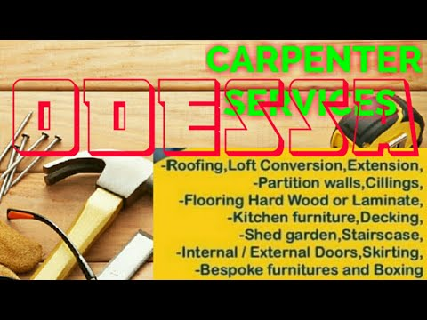 ODESSA        Carpenter Services 》Carpenter at Your Home ♤Furniture Work ◇ near me●Carpentery ♡   ■◇
