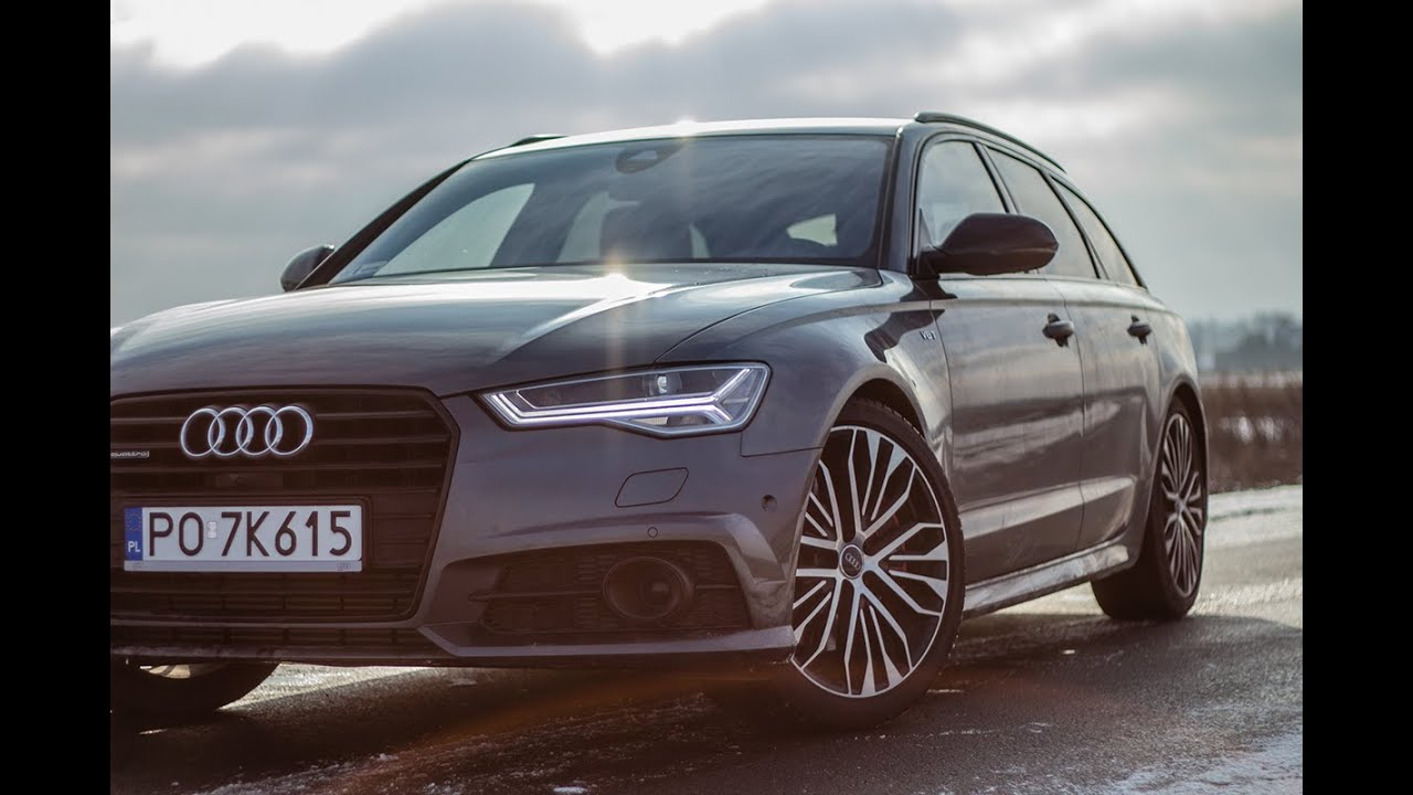 audi a6 avant 3 0 tdi competition 2016 326hp sound acceleration on snow youtube. Black Bedroom Furniture Sets. Home Design Ideas