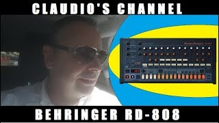 Claudio's Channel Behringer RD 808