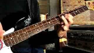 Black Sabbath N I B bass solo slow by Munkybarz