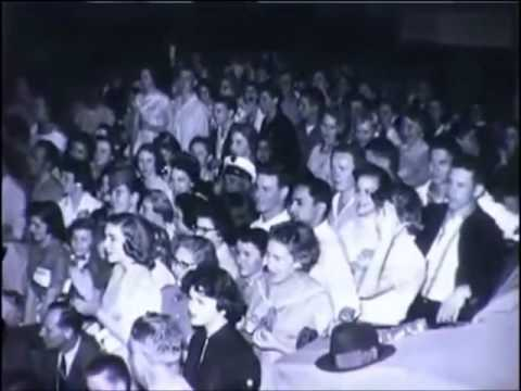 ELVIS 1956, with fans and in concert   RARE UNSEEN FOOTAGE