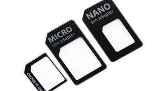 Адаптер для nano/micro SIM