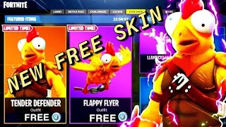 *GLITCH* HOW TO GET TENDER DEFENDER SKIN FOR FREE! IN FORTNITE BATTLE ROYALE! (NEW SKIN FOR FREE)