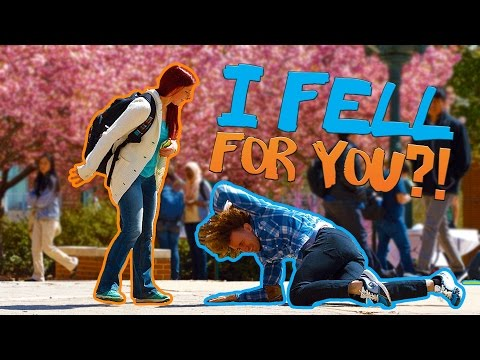 CHEESY PICKUP LINES ON STRANGERS IN PUBLIC!!! (UC Berkeley College Students) from YouTube · Duration:  4 minutes 21 seconds