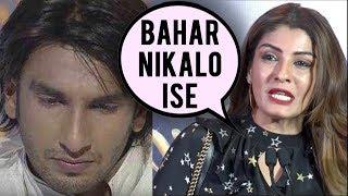 Raveena Tandon Had Kicked Out Ranveer Singh For Bad Behaviour On Set