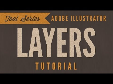 Adobe Illustrator CC Tutorial - Using Layers