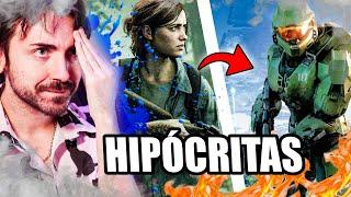HIPÓCRITAS y la filtración de HALO INFINITE 🤔 IMB*CILES! Historia y Gameplay - Xbox Series X | S