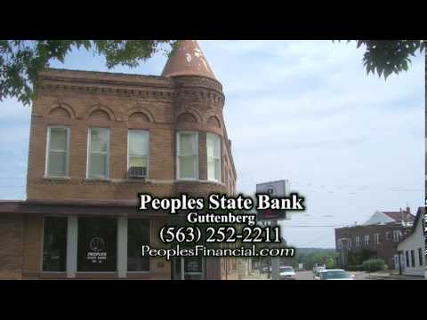 Peoples State Bank, Guttenberg, IA