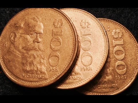 1987- 1988 Mexico $100 Pesos