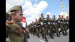 Грозный Парад Победы 2018 Чечня Victory parade in Chechnya Grozny 2018