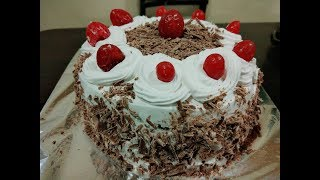 Black forest cake | simple and easy black forest cake