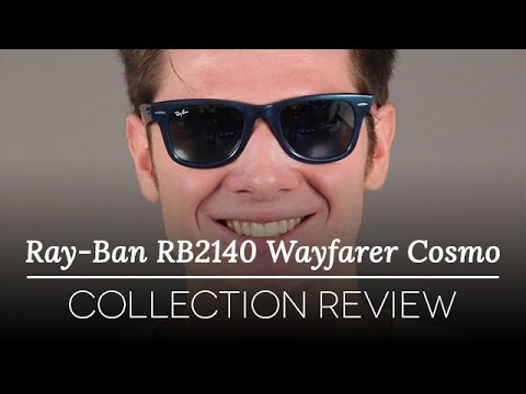 Ray-Ban RB2140 Original Wayfarer Cosmo Collection Review - YouTube 8f64f7cc9f49
