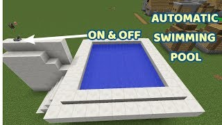 How To Make An Automatic Pool In Minecraft (Tutorial)