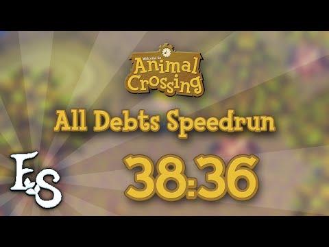 Animal Crossing - All Debts Speedrun in 38:36 [PB]