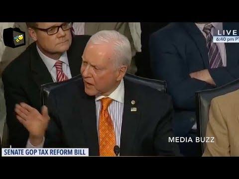 Chaos and Screaming Erupts After Democrat Senator Attacks Republicans! 11/16/17
