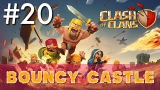 Clash of Clans - Single Player #20: Bouncy Castle | Minimalist Army Playthrough