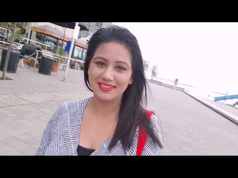 Cabin Crew/Air hostess Travel FUN-Toronto Canada City/ Harbourfront /Toronto Sign Mamta Sachdeva