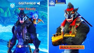 MAX DIRE SKIN GLITCH! *NEW* FORTNITE DIRE MAX STAGE 5 WEREWOLF! (Season 6 Battle Pass Tier 100 Skin)