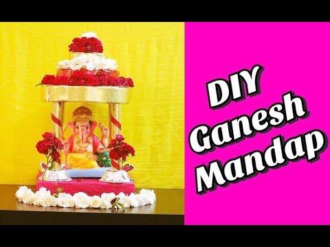DIY Ganesh Mandap 2 || HC#30