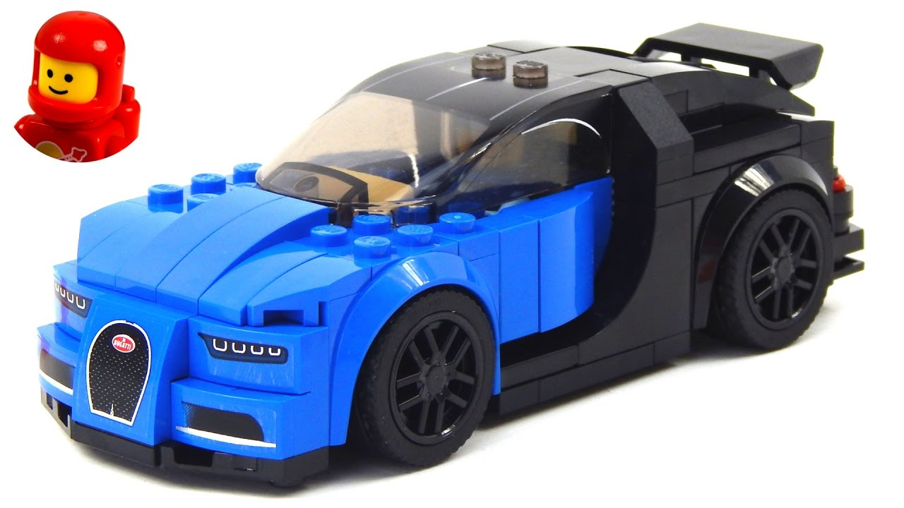 lego speed champions 75878 bugatti chiron lego speed build. Black Bedroom Furniture Sets. Home Design Ideas
