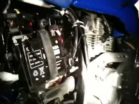 Battery Tender Install ttr 230  YouTube
