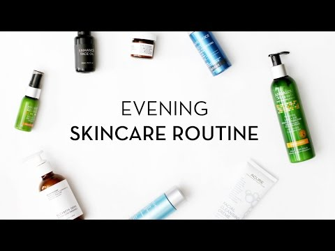 Evening Skincare Routine | One Love Organics, Paula's Choice, Andalou Naturals