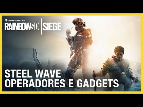 Rainbow Six Siege: Steel Wave - Gameplay de Operadores e Gadgets
