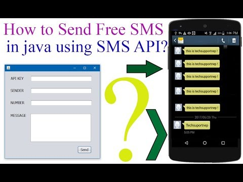 How to Send Free SMS From java using SMS API? [With Source Code]