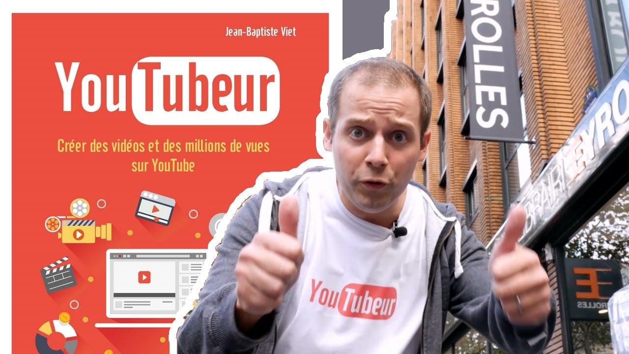 Youtubeur Le Livre