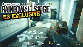 Rainbow Six Siege Gameplay - (E3 Exclusive) TerrorHunt Realistic Difficulty