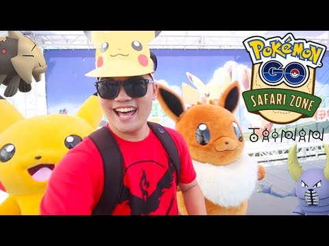 DANCING WITH PIKACHU AT THE TAINAN SAFARI ZONE! - Silph Scope #56