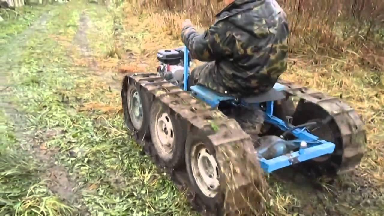 Самодельный гусеничный трактор своими руками фото 583