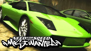 Need for Speed: Most Wanted 2005 Gameplay PC - Widescreen Fix