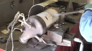Удаление сажевого фильтра на VW Transporter