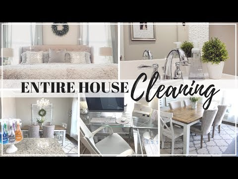 NEW! EXTREME CLEANING MOTIVATION 2019 | ENTIRE HOUSE CLEAN | CHATTY CLEAN WITH ME