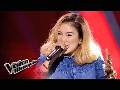 """Jargal.A - """"Rap God"""" - Blind Audition - The Voice of Mongolia 2018"""