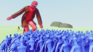 GIANTS VS WORLD! 1000+ BATTLE! (Totally Accurate Battle Simulator - TABS)