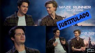 Dylan O'Brien & Thomas Brodie-Sangster (Maze Runner) Interview (¿Bailando?) | SUBTITULADO